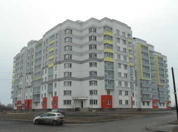 Общий вид на ЖК Дом в Романовке